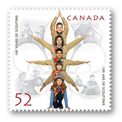 canadian stamp 2009