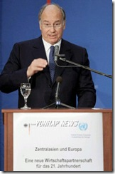 Speech by His Highness the Aga Khan at the Conference on Central Asia and Europe : A New Economic Partnership for the 21st Century Berlin - November 13, 2007