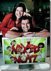 Shabnam Rezaei and Aly Jetha have recently opened Big Bad Boo animation studio in Vancouver.