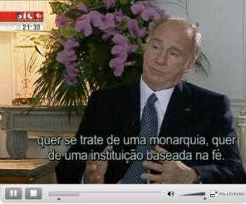 Clash of ignorance Interview with His Highness the Aga Khan - Portuguese TV