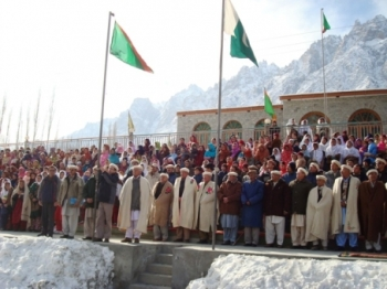 Pamir Times - Salgirah of His Highness celebrated despite snowfall