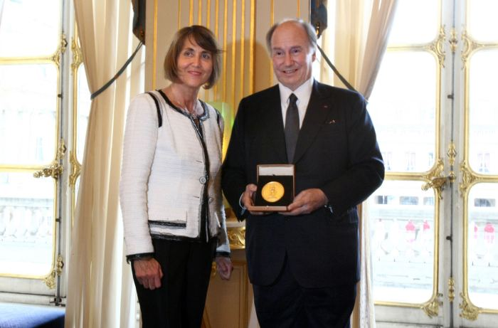 FRANCE-CULTURE-AWARD-AGA-KHAN