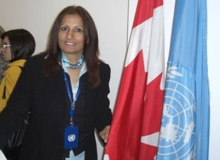 Almas Jiwani - president of UNIFEM