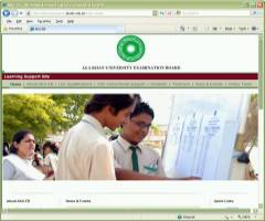 Website for Aga Khan University - Education Board
