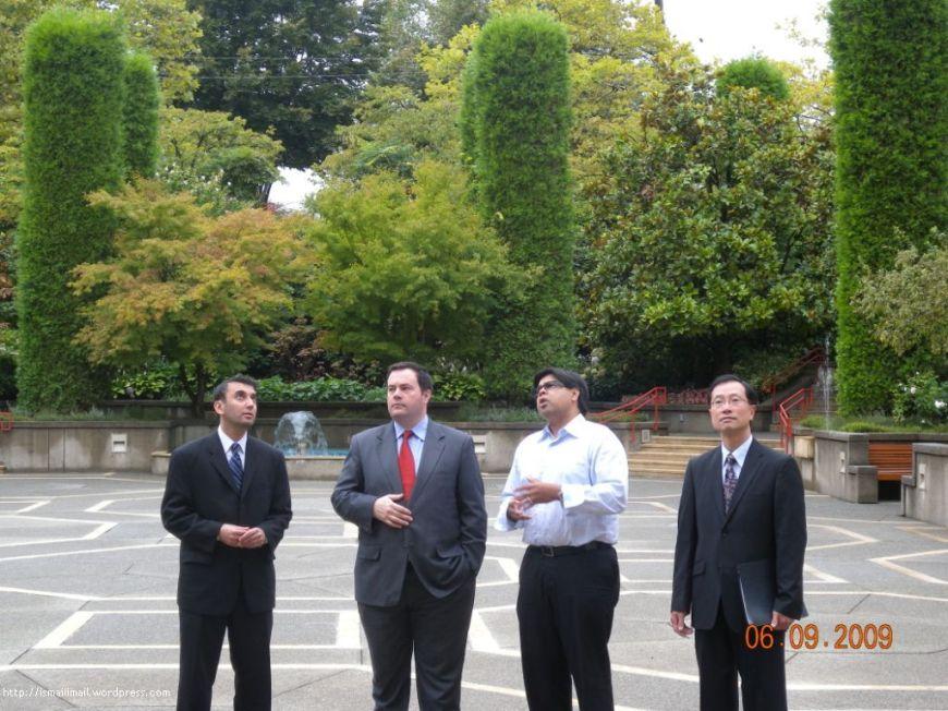 Minister Jason Kenney at Burnaby Jamatkhan 2