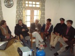 President Ismaili Regional Council Hunza briefing Chief Sec Gilgit-Baltistan