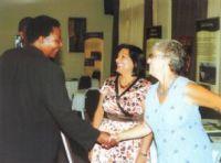 Shamim Murji and Ann Jeffs meet Syda Bbumba, the Ugandan Minister of Finance