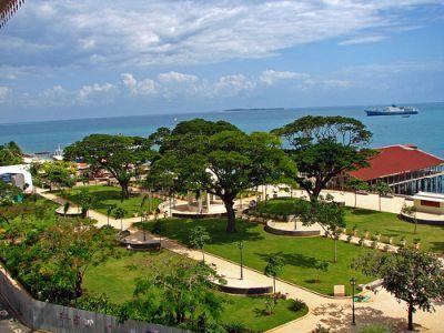 Forodhani Gardens in Zanzibar
