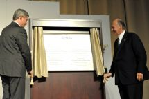 Aga Khan and Canadian PM Perform Foundation of the Ismaili Centre, the Aga Khan Museum and their Park in Toronto   AKDN
