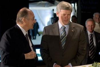 Harper makes Aga Khan honorary Canadian | National Post