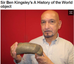 Sir Ben Kingsley's gold turban - BBC's A History of the World