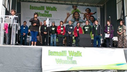 Ismaili Walk for Women | by Senator Mobina Jaffer