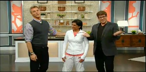 Steven and Chris Show: Salimah teaches Laughter Yoga