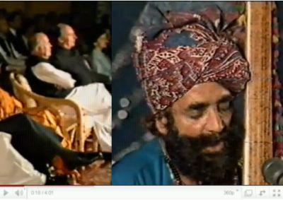 Ginan by late Allan Faqir in the presence of Prince Karim Aga Khan