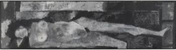 Artist Akbar Padamsee's 'grey' work goes for record $1.4m at Sotheby's sale in New York