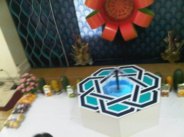 Green Park Jamatkhana Mum bai Decoration for Imamat Day July 2011 -7