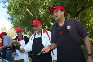 Council President Mohammed Manji at Canada Day Breakfast