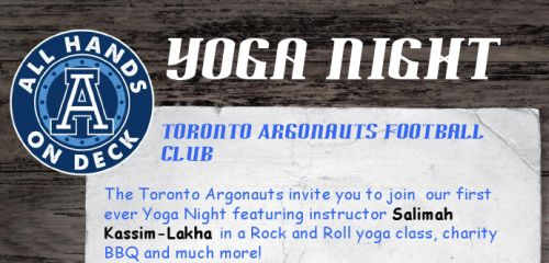 Salimah Kassim-Lakha Yoga Night and Charity BBQ