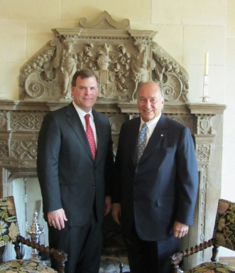Canadian Foreign Affairs Minister John Baird meets with His Highness the Aga Khan