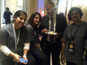 Ismaili Volunteers in Paris at G(irls)20 Summitt