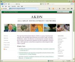 official Website of Aga Khan Development Network AKDN