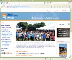 Official Website Aga Khan Foundation Canada Word Partnership Walk