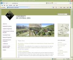 Official Website University of Central Asia UCA