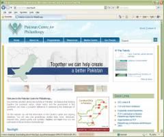 Official Website Pakistan Centre for Philanthropy PCP