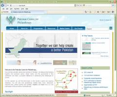 Official Website Pakistan Centre for Philanthropy PCP