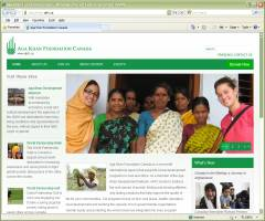 Official Website Aga Khan Foundation Canada