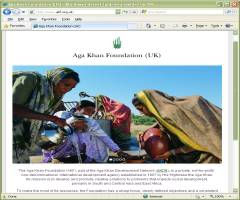 Official Website Aga Khan Foundation UK United Kingdom