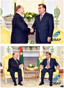 XOBAP Photos Inauguration of the Dushanbe Serena Hotel