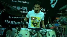 String Band's New Drummer Aahad Nayani - Live Drumming Solo