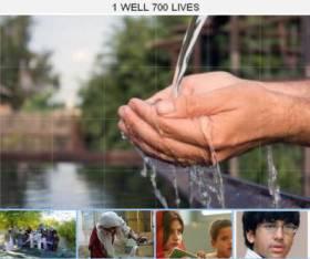 Aqil Rashid's initiative: 1 Well 700 Lives