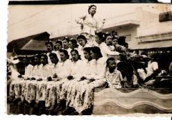 Burma Float - Photograph Nazir Alimohammad and family, 1960 Burma