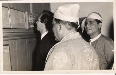 Mawlana Hazar Imam, Photograh Nazir Alimohammad and family, 1960 Burma