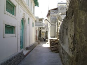 Ismaili Jamatkhana in old Gwadar city