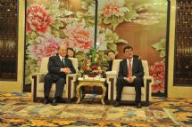 His Highness the Aga Khan visits Urumxi, China