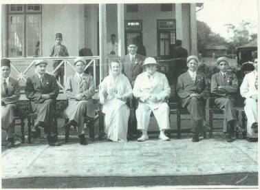 Old Memory...picture of Imam Sultan Muhammad Shah and Begum Andre (Prince Sadrudin's Mother)