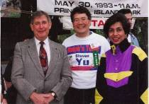 Mary Hassanali: One of the Founding Member of the Partnership Walk in Canada, shares her Fundraising Page, dedication to two individuals and Historical Photographs