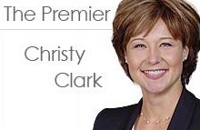 Honourable Premier of British Columbia Christy Clark