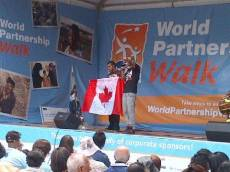 Select Tweets from the Partnership Walk in Canada