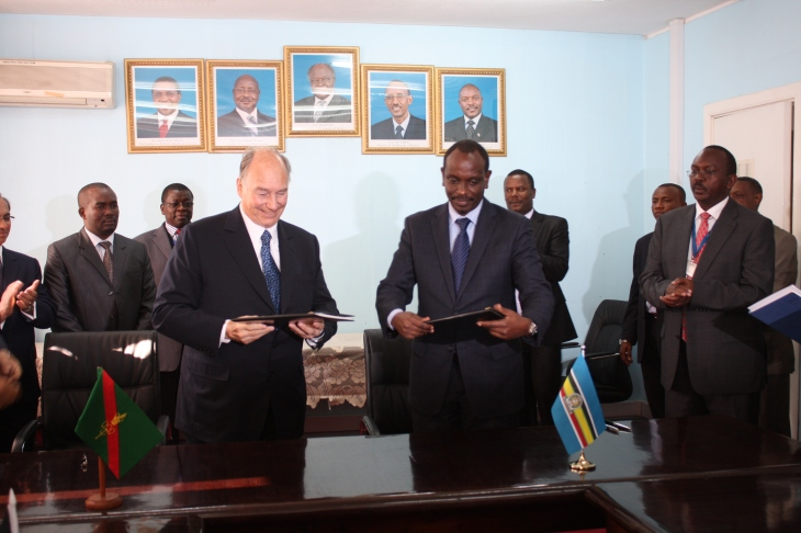 EAC, AKDN Sign Agreement
