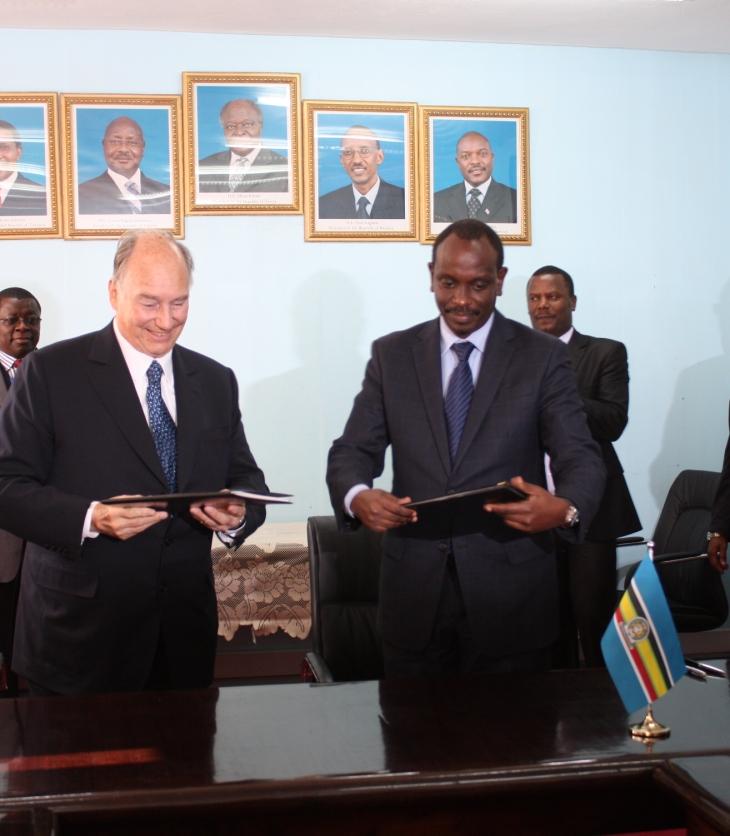 EAC, AKDN Sign Agreement