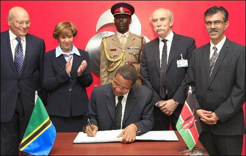 Aga Khan University Hospital Nairobi Hosts Tanzanian President