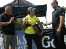 Golfer Fareen Samji wins Canadian National Long Drive Challenge