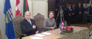 Alberta Government: Premier Redford and His Highness the Aga Khan sign Cooperation Agreement