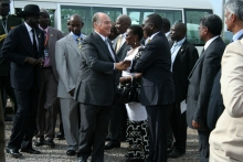 LIVE UPDATES: President Museveni of Uganda and His Highness the Aga Khan commission Bujagali Dam
