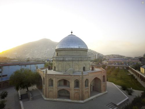 mausoleum of Timur Shah in Kabul