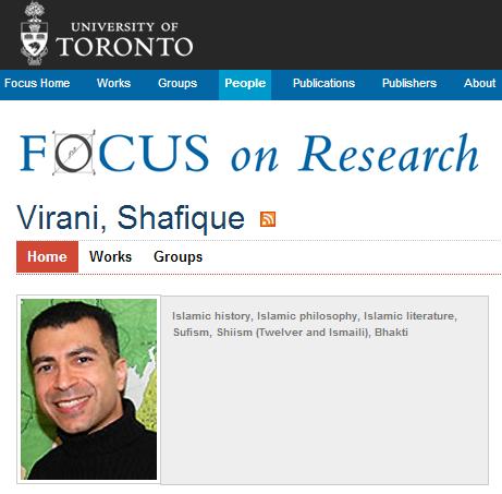 Focus on Research: Shafique Virani
